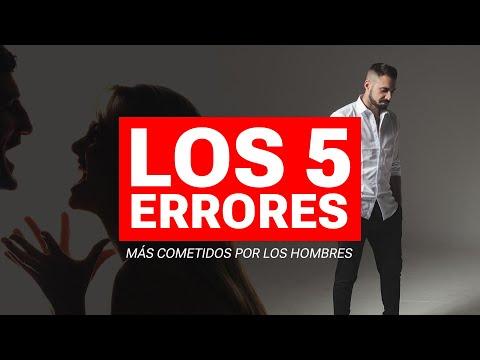 Los 5 Errores Más Cometidos Por Los Hombres Para Ligar Con Una Mujer