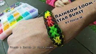 Rainbow Loom StarBurst The Best Tutorial