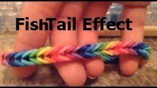 How To Make A Fishtail Rainbow Loom Bracelet