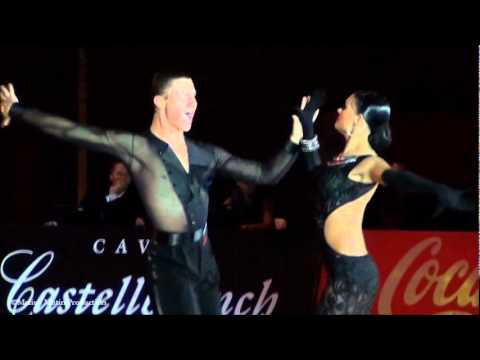 Salou 2011, GrandSlam Latin   solo Samba, Andrey Gusev &amp; Elizaveta Cherevichnaya