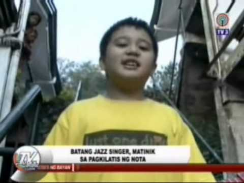 EJ featured on Batang K segment of abs-cbn TV Patrol, Northern Luzon November 19, 2013