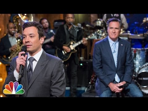 """Slow Jam The News"" with Mitt Romney (Jimmy Fallon)"