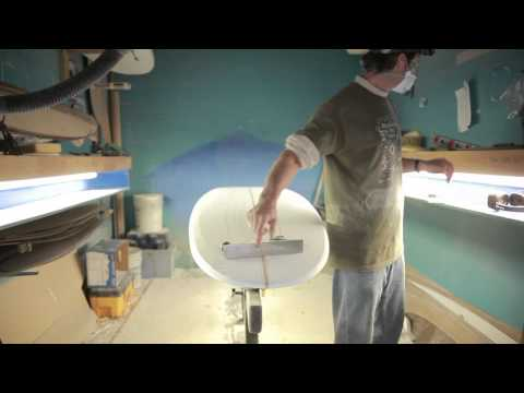 paul carter how to shape a surfboard - part3