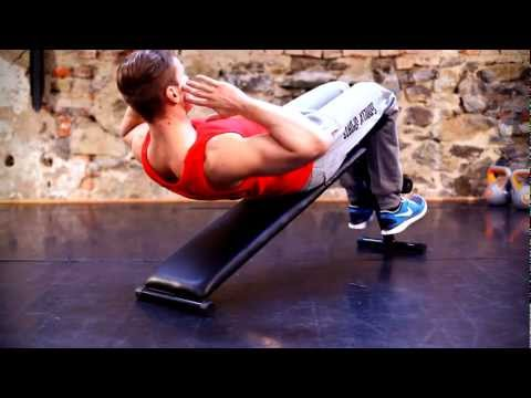 Gorilla Sports - Sit Up Bank Bauchtrainer