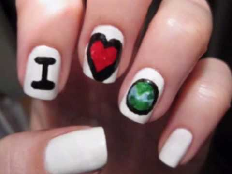 Earth Day Nails,