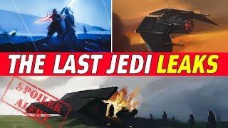 All Confirmed The Last Jedi Plot Leaks | Star Wars Episode 8 SPOILERS!