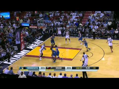 Minnesota Timberwolves vs Miami Heat | April 4, 2014 | NBA 2013-14 Season