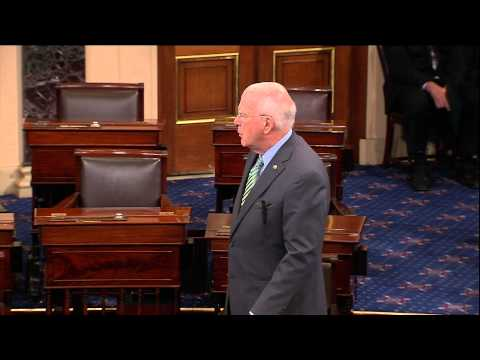 Sen. Leahy Addresses Senate After Sen. Feinstein's Remarks on CIA monitoring Senate Intel Committee