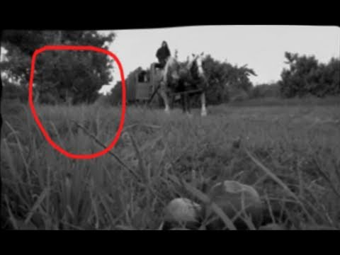 Ghost - Rare look at a Vampire Caught on Video Tape from 1946