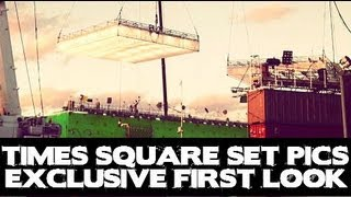 New Set Pics 'Times Square' THE AMAZING SPIDER-MAN 2