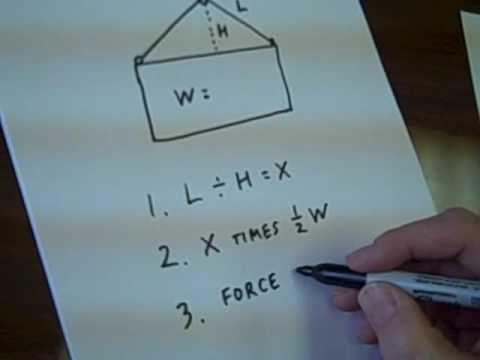 How To Calculate A Sling Load Youtube