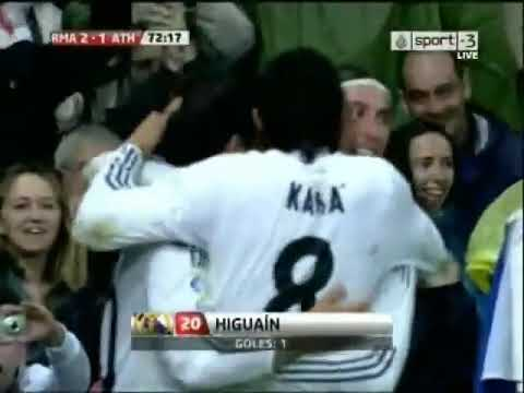 Real Madrid Vs Athletic Bilbao 5-1 - All Goals & Match Highlights - [High Quality] - May 8 2010