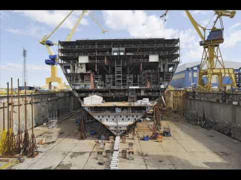 royal caribbean oasis of the seas construction - YouTube Oasis Of The Seas Construction