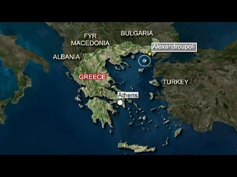 Huge earthquake hits Greece and Turkey