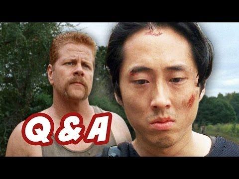 The Walking Dead Season 4 Q&A - The Hunters VS Sanctuary Edition