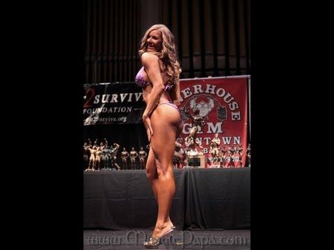NPC Bikini Competition, 11 days out & diet change video!