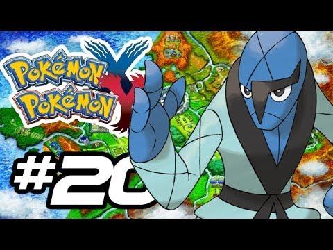 Pokemon X and Y Gameplay Walkthrough - Part 20 - NEW POKEMANS!! (Pokemon Gameplay 3DS HD)