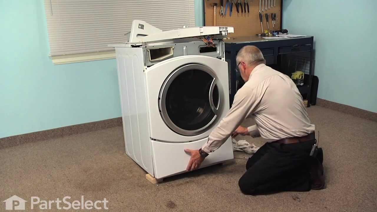 Washing Machine Repair Replacing The Door Boot Seal Ge