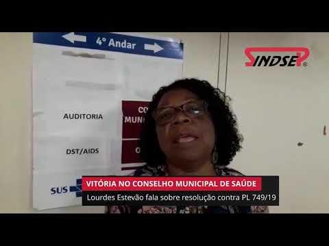 Conselho Municipal de Saúde rejeita PL 749/19