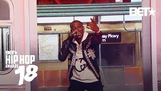 Flipp Dinero Had The Crowd Bumpin' To 'Leave Me Alone!'   Hip Hop Awards 2018