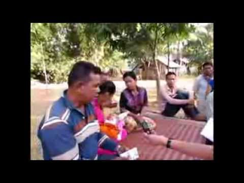 Khmer Post Radio Interviews with A Father of  Shot Dead Worker - Part1