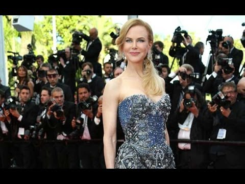 Nicole Kidman on the red carpet for Grace of Monaco Cannes premiere