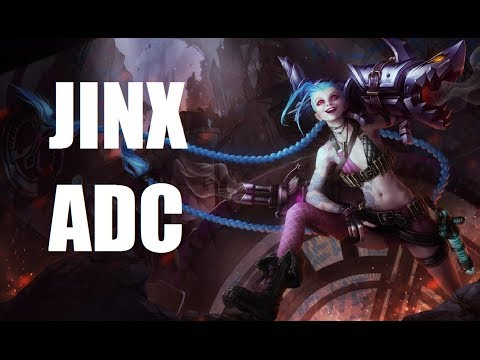 League of Legends - Jinx ADC - Full Game With Friends