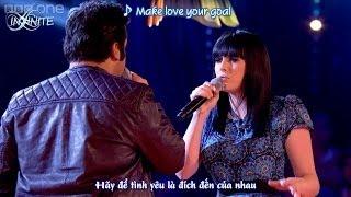 Cặp đối đầu nam nữ khủng nhất tôi từng xem The Voice. Quá cảm xúc...!!!!