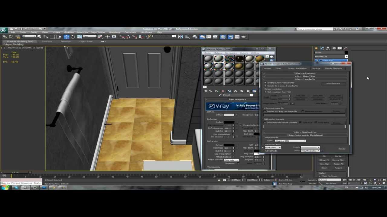 3ds max tutorial interior architectural design bathroom for 3ds max interior design files