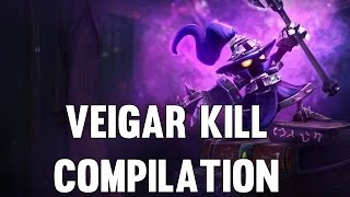 League Of Legends - Veigar Kill Compilation (Series Two)