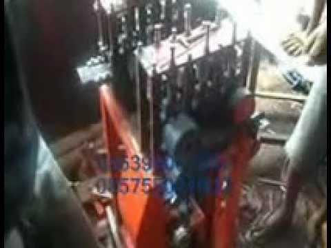 mesin pengirat dan rajang bambu