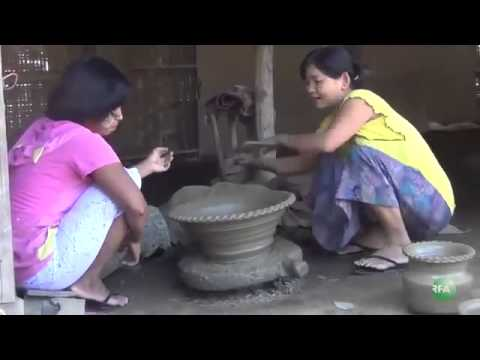 RFA Burmese on 13 Dec 2013,  Pottery Business at Pyinmana Villages