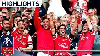 Arsenal vs Hull City - FA Cup Final 2014   Goals & Highlights