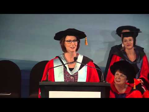 The Hon Julia Gillard receives an Honorary Degree from Victoria University