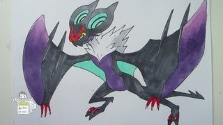 [Tutorial] How To Draw Noivern オンバーン