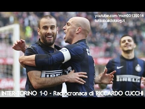 INTER-TORINO 1-0 - Radiocronaca di Riccardo Cucchi (9/3/2014) da Radiouno RAI