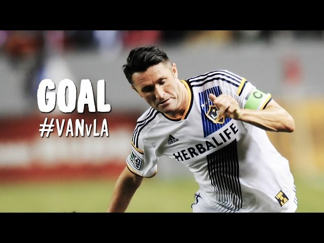 GOAL: Robbie Keane puts LA back on top | Vancouver Whitecaps vs LA Galaxy