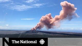 Kilauea volcano erupts, Hawaii hit by earthquake