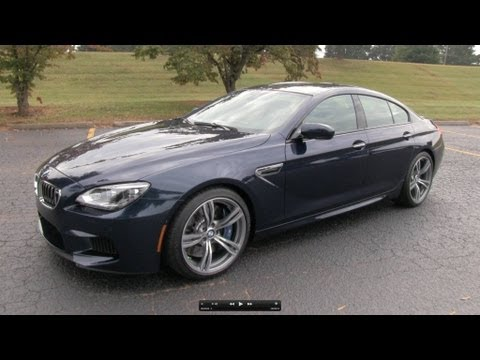 Обзор BMW M6 Gran Coupe 2014.