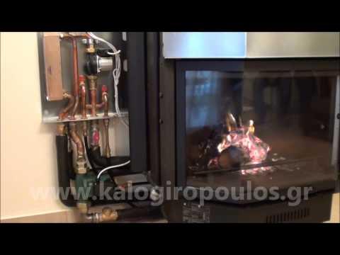 Εγκατάσταση Ενεργειακού Τζακιού Acquatondo mod.29