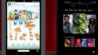 Prizefight Nook HD Vs. Kindle Fire HD