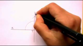 Constructing Perpendicular Lines (using A Straightedge And