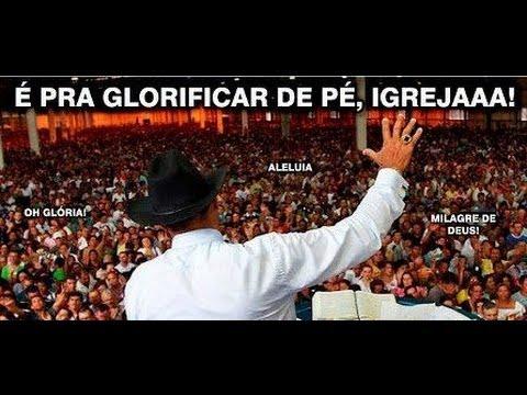 HARLEM SHAKE - É PRA GLORIFICAR DE PÉ IGREJA