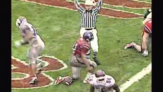 Mississippi State's defensive scores in the 1996 Egg Bowl