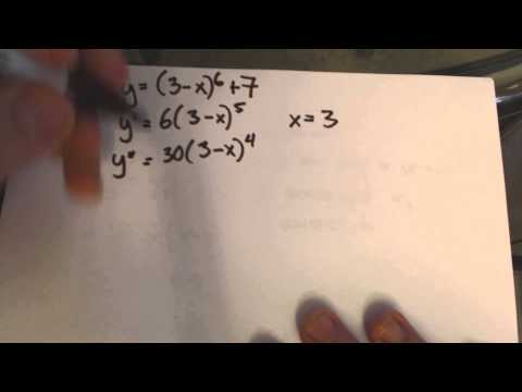Nth Derivative Test Problem 2c
