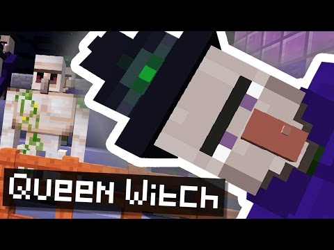 MEETING THE QUEEN MINECRAFT WITCH..!!