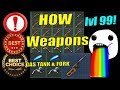 HOW LVL 99 GET WEAPONS GODLIKE LUCK LAST DAY ON EARTH