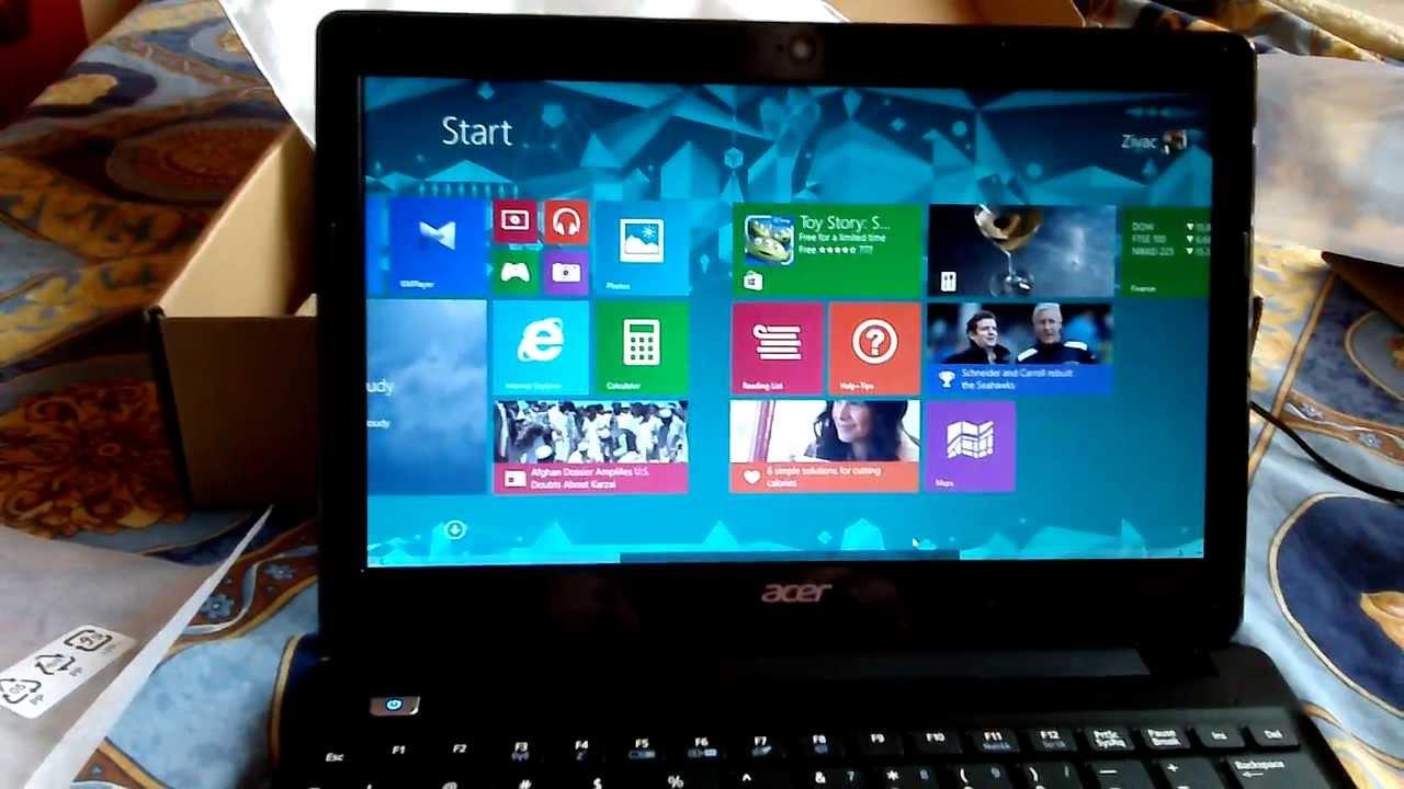 Acer Aspire V5 123 Unboxing