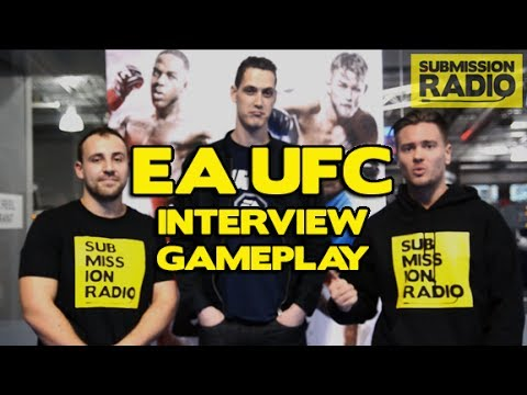 EA Sports UFC Interview with Jazz Brousseau, Gameplay, New Info! Submission Radio Exclusive