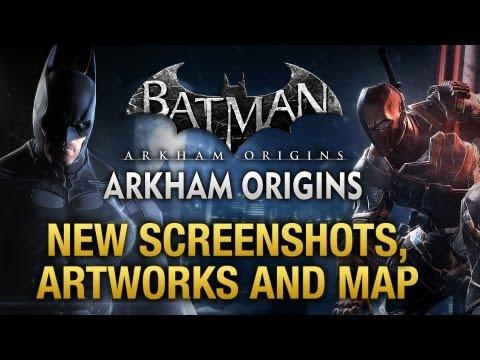 Batman: Arkham Origins - New Screenshots, Artworks and Gotham City Map